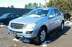 CLEAN 2010 MERCEDES BENZ ML350 SILVER FOR SALE