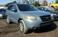 Hyundai Santa Fe 2009 model blue for sale