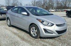 Hyundai Elantra silver 2015 model for sale