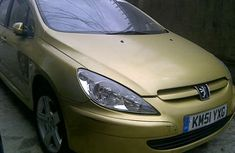 Peugeot 307 2002 Yellow For Sale