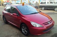 2006 Peugeot 307 red for sale