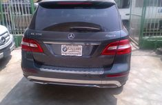 Clean used Benz ML350 4matic 2015 Grey for sale