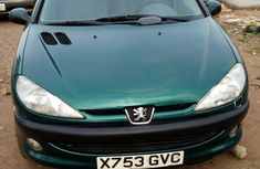 Peugeot 206 2001 Green for sale