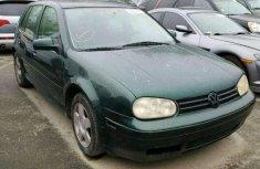 Volkswagen Golf 2003 green for sale