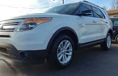 CLEAN 2010 FORD EXPLORER WHITE FOR SALE
