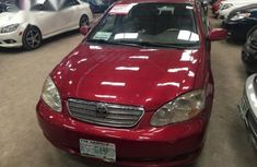 Toyota Corolla 2006 Red for sale