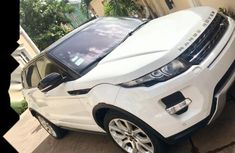 Land Rover Range Rover Evoque 2013 Petrol Automatic White for sale