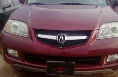 Tokunbo Acura MDX 2005 Red for sale