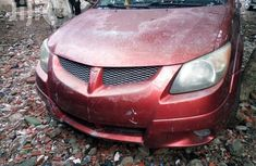 Tokunbo Pontiac Vibe 2004 Red for sale