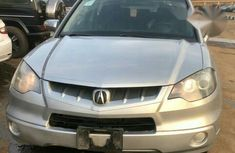 Clean Acura RDX 2007 Silver for sale