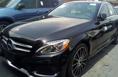 Mercedes-benz C300 2015 Black for sale