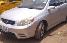 Nigerian Used Toyota Matrix 2002 Silver for sale