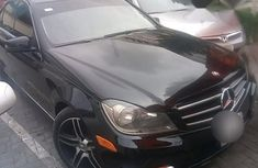 Mercedez Benz C250 2014 Black for sale