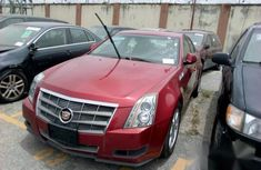 Cadillac CTS 2008 Red for sale