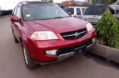 Acura Mdx 2003 Red for sale