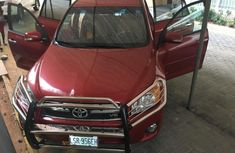 Toyota RAV4 2010 Petrol Automatic Red for sale