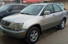 Registered Lexus RX300 2000 Silver for sale