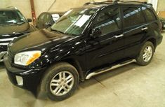 Toyota Rav4 2003 Black for sale
