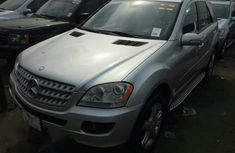 Mercedes-Benz M Class ML350 4MATIC 2007 Silver for sale