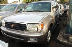 Toyota Land Cruiser 2003 Silver for sale