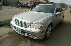 Clean Mercedes-Benz C240 2004 Silver for sale