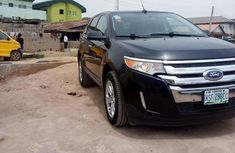 Neatly Used Ford Edge 2014 Black for sale