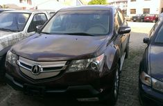 Tokunbo Acura MDX 2006 red for sale