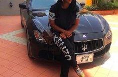 Check out Jackie Appiah's N17 million Maserati Ghibli