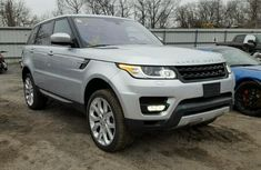 CLEAN 2012 RANGE ROVER SILVER FOR SALE