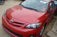 Foreign used Toyota Corolla 2013 red for sale