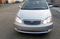 Foreign used Toyota Corolla 2005 sports silver for sale