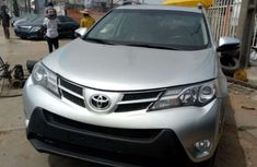 Foreign used Toyota Rav4 2014 silver for sale