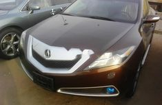 Acura ZDX 2010 Petrol Automatic Brown for sale