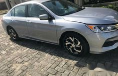 Tokunbo Honda Accord 2017 Silver for sale