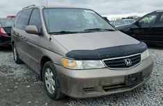 Foreign used Honda Odyssey family car 2004 model for sale