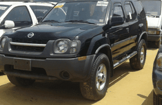 2004 NISSAN XTERRA BLACK FOR SALE