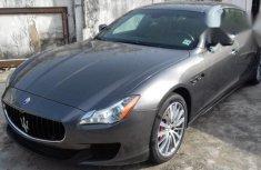 Clean Maserati Quattroporte 2015 Gray for sale