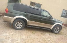 Mitsubishi Montero Sport 1998 Green for sale