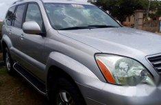 Clean Lexus GX470 2009 Silver for sale