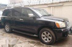 Nissan Armada 2004 Black for sale
