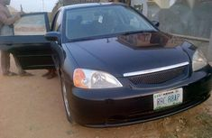 Honda Civic 2002 Black For Sale