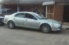 Chrysler Sebring 2004 Silver for sale