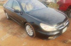 Peugeot 607 2004 Black for sale