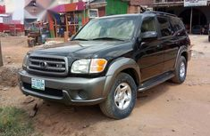 A Sharp And Neatly Used Toyota Sequoia 2004 Black for sale
