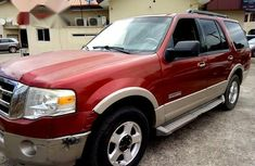 Ford Expedition 2007 Red for sale