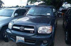 Tokunbo Toyota Sequoia 2007 Blue for sale
