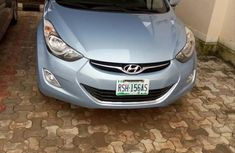 Hyudia Elantra 2013 Blue for sale