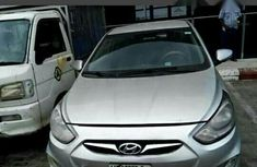 Hyundai Accent 2012 Silver for sale