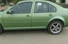 Clean Volkswagen Bora 2000 Green For Sale