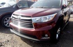 Toyota Highlander 2016 Red for sale